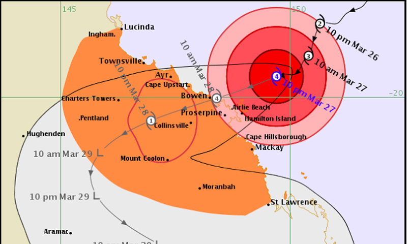 cyclone hitting australia
