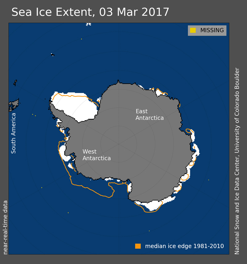 antarctic sea ice extent