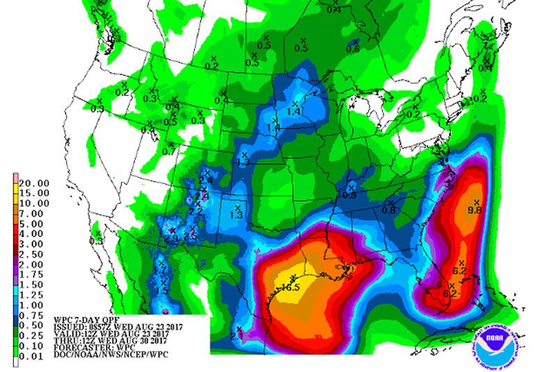 Quantitative Precipitation Forecast (QPF)