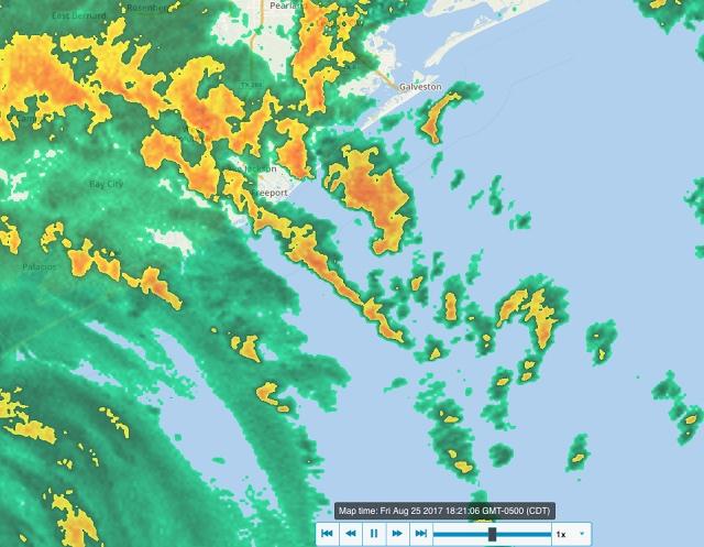harvey rain squalls