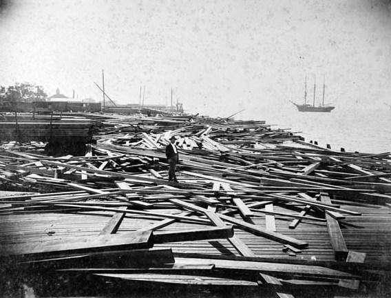 historic storm surge georgia