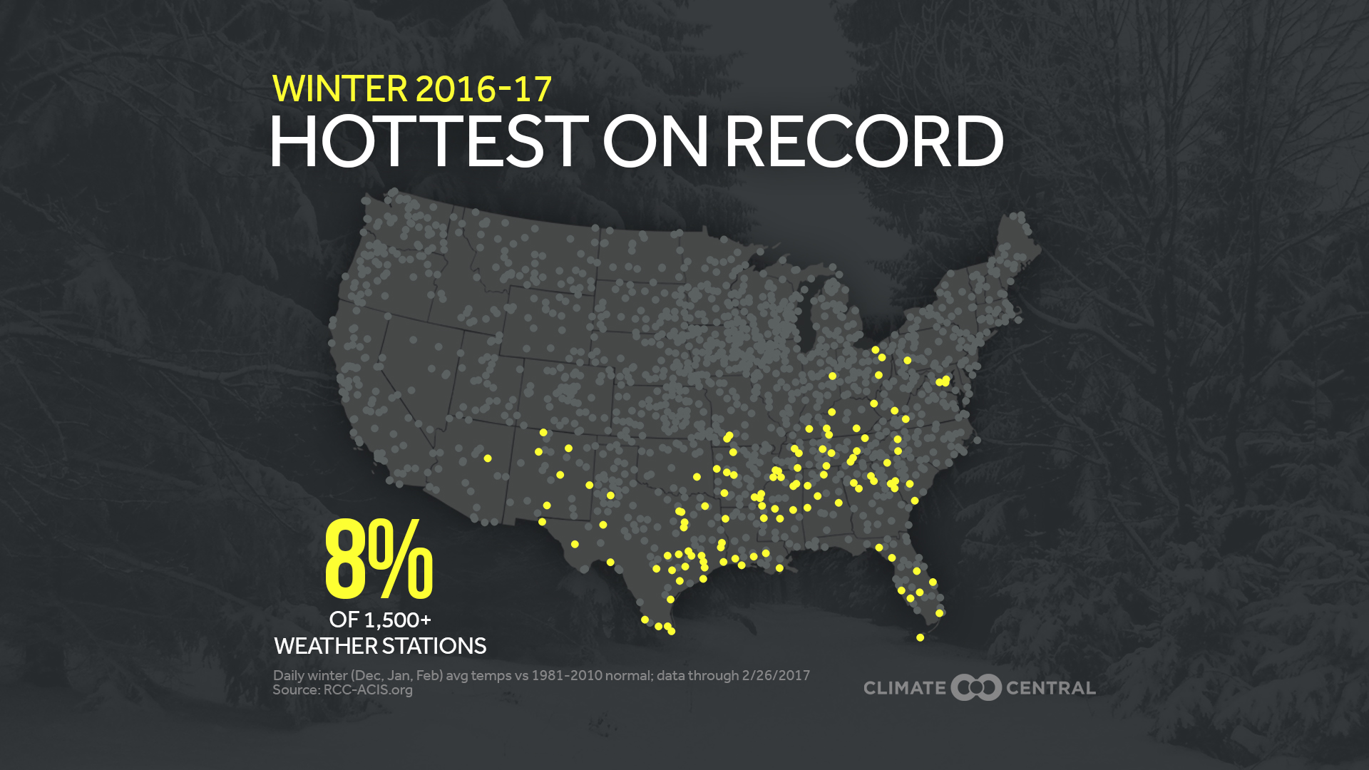 Hottest on record U.S. cities
