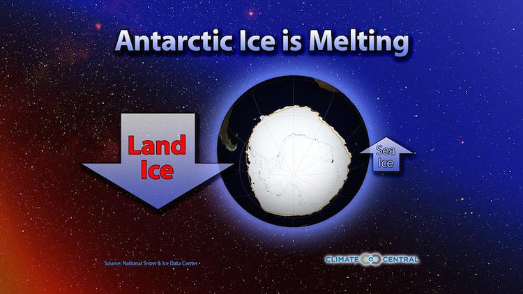 What's Going On With Antarctic Ice