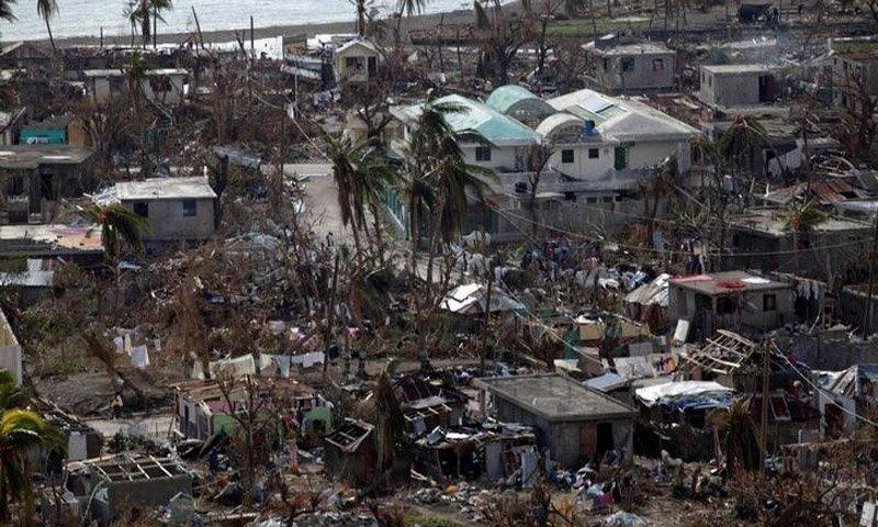 Hurricane Matthew Haiti impact