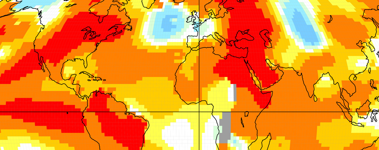 Second-Warmest October Cements Hottest Year