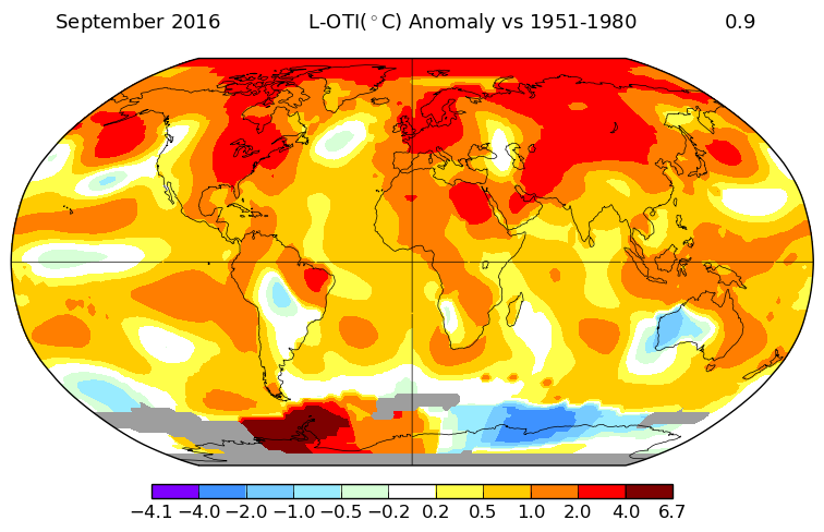 september global temperatures