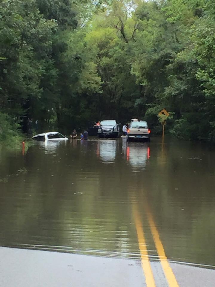 Caromi Village neighborhood flooding in South Carolina