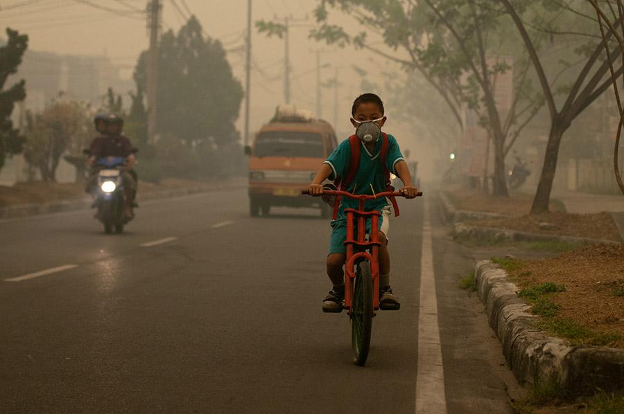 Indonesia fires haze