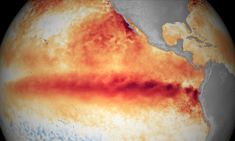 El Nino October 2015
