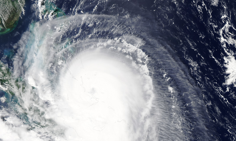 Hurricane Joaquin on Oct. 1, 2015