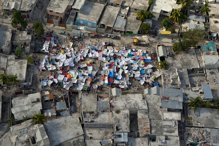 Haiti earthquake aftermath