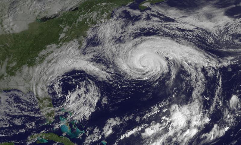 Hurricane Joaquin, October 5 2015
