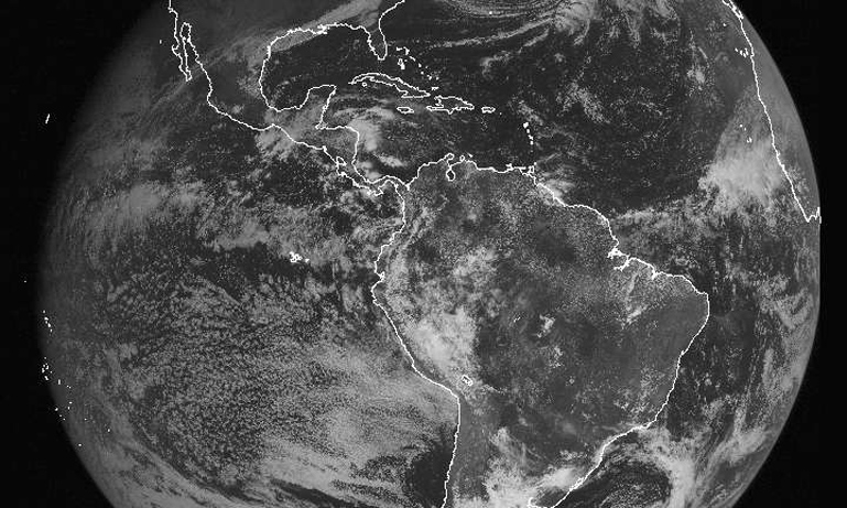 atlantic basin from NOAA's GOES satellite