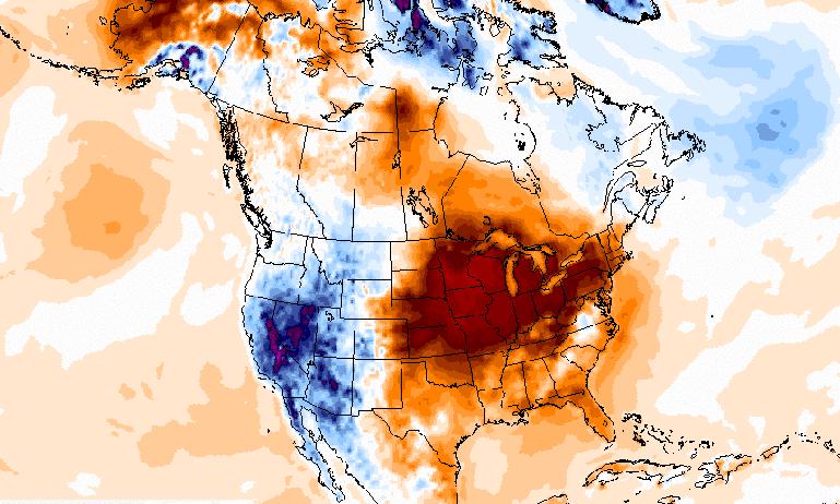 Eastern U.S. Heat