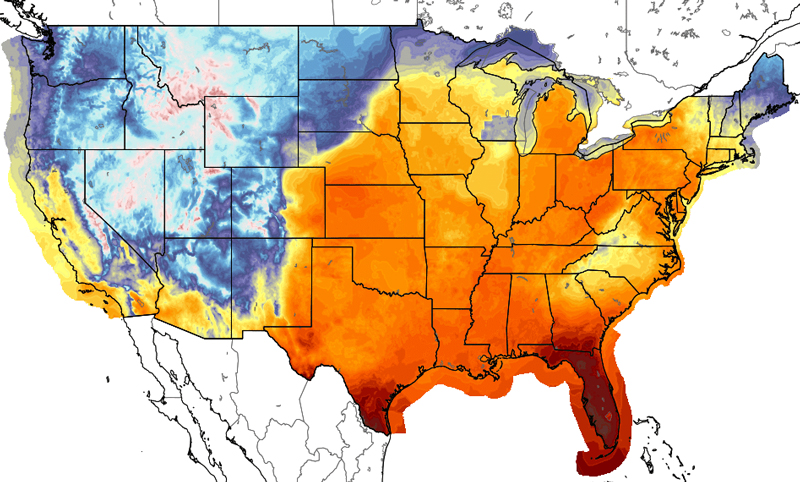 high temperature forecast 11/4/2015