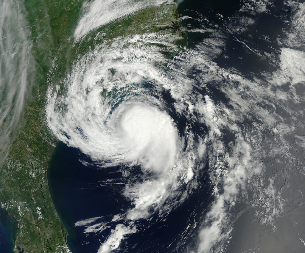 Tropical Storm Ana on May 9, 2015