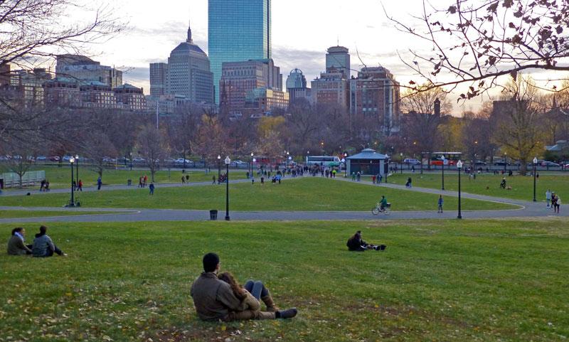 warm december 2015 in boston