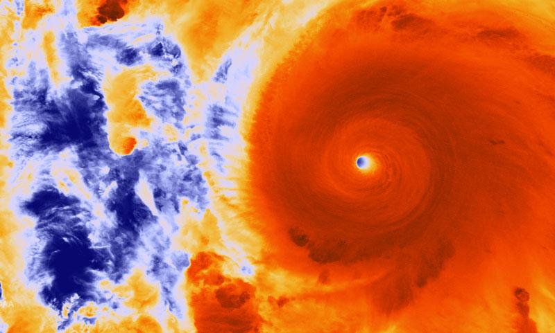 hurricane patricia satellite image