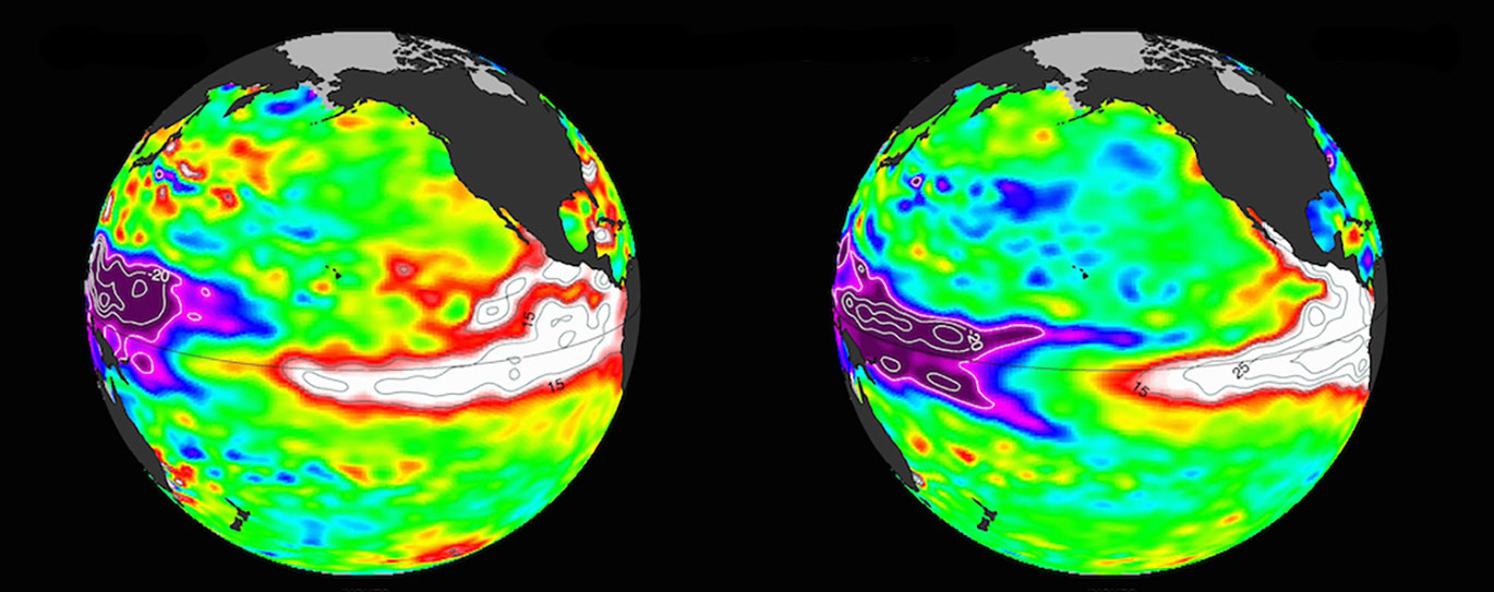 El Niño Heat Peaks, But Impacts Still to Come
