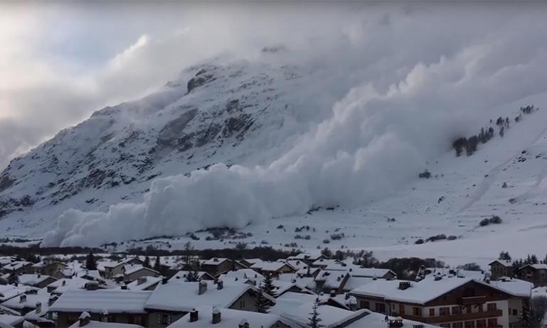 Bessans avalanche