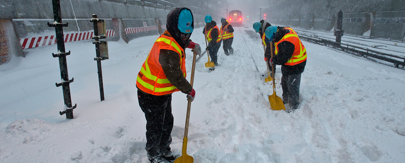 The Blizzard of 2016 Ranked As One of the Northeast's Worst Winter Storms