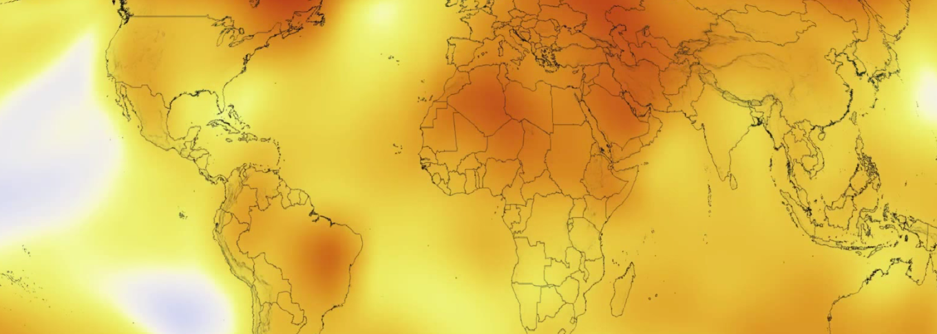 This is the Globe's Hottest Five-Year Period on Record