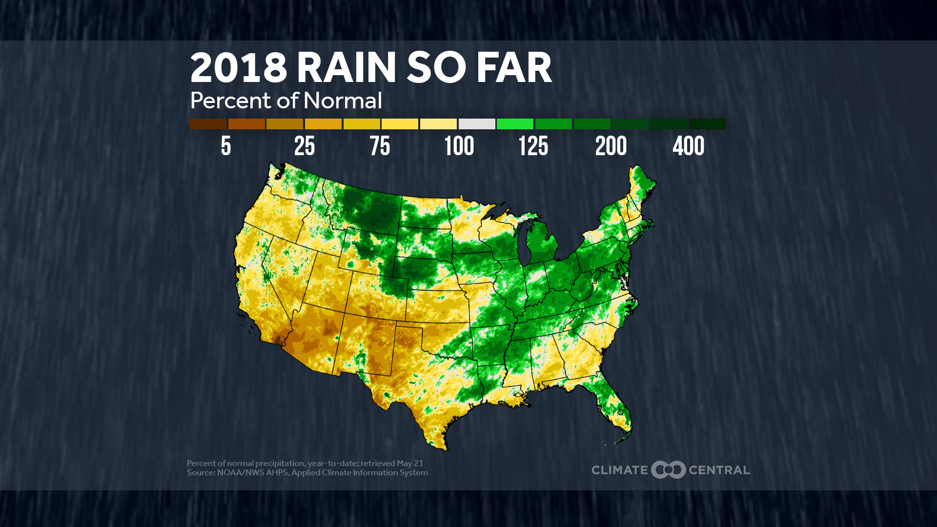 Drought and deluge in a warming world