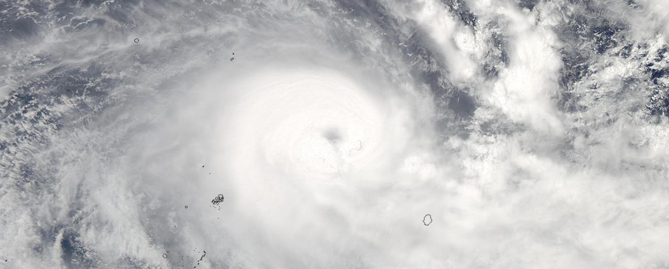Winston Will Be Among the Strongest Cyclones on Record to Hit Fiji