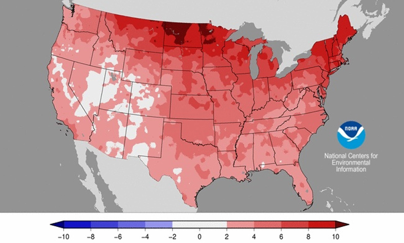 winter temperatures u.s.