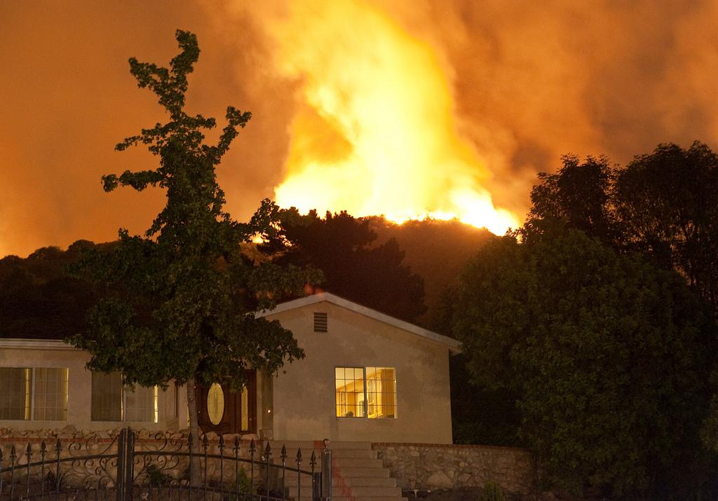 California wildfire, 2009