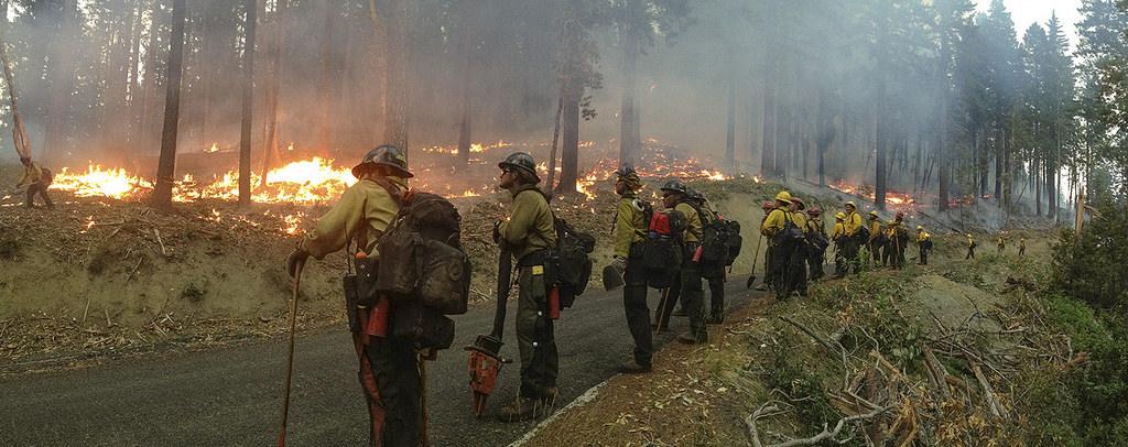 Oregon wildfire, 2013
