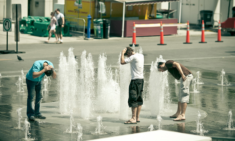 Heat wave in Montreal, Quebec