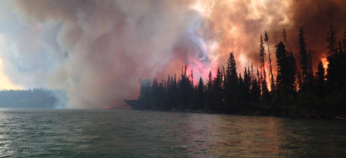In Era When Hurricanes And Wildfires >> Alaska Entering New Era For Wildfires Wxshift