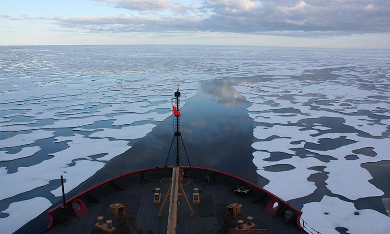 Arctic Ocean testing