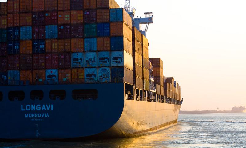 cargo ship,
