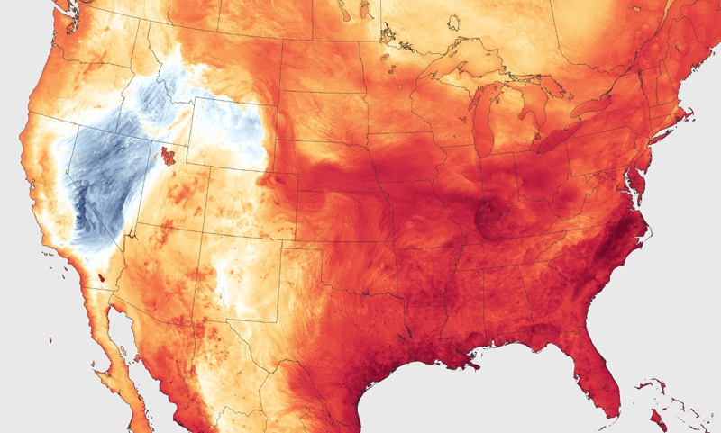 heat forecasted to hit the U.S.