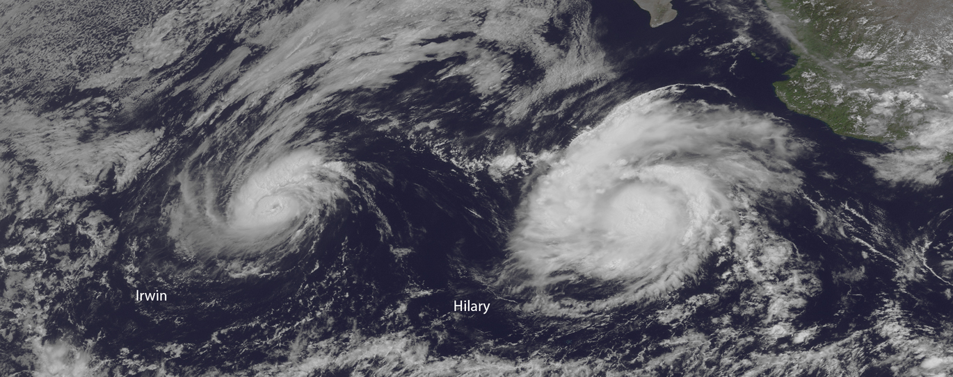A Sudden Burst of Tropical Storm Activity Awakens the Pacific