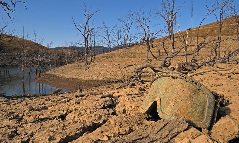 Tuttletown Recreation Area at New Melones Lake in Sonora, Calif.