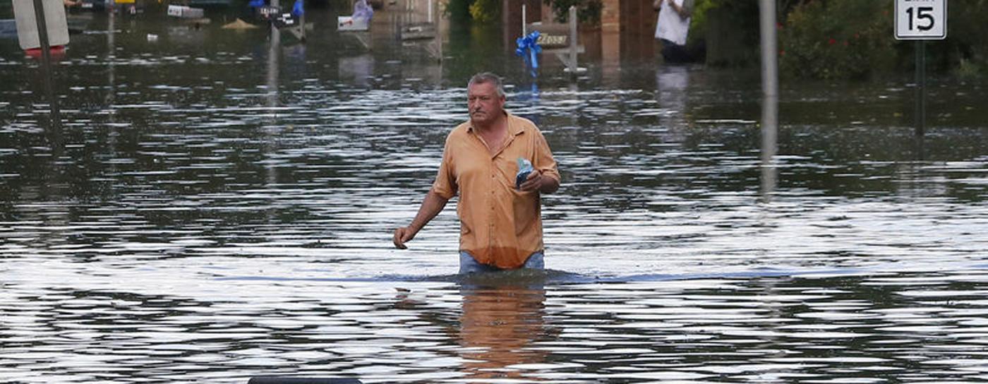 Massive Flooding Continues in Louisiana