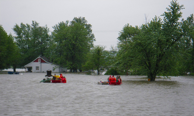 Flooding in Illinois