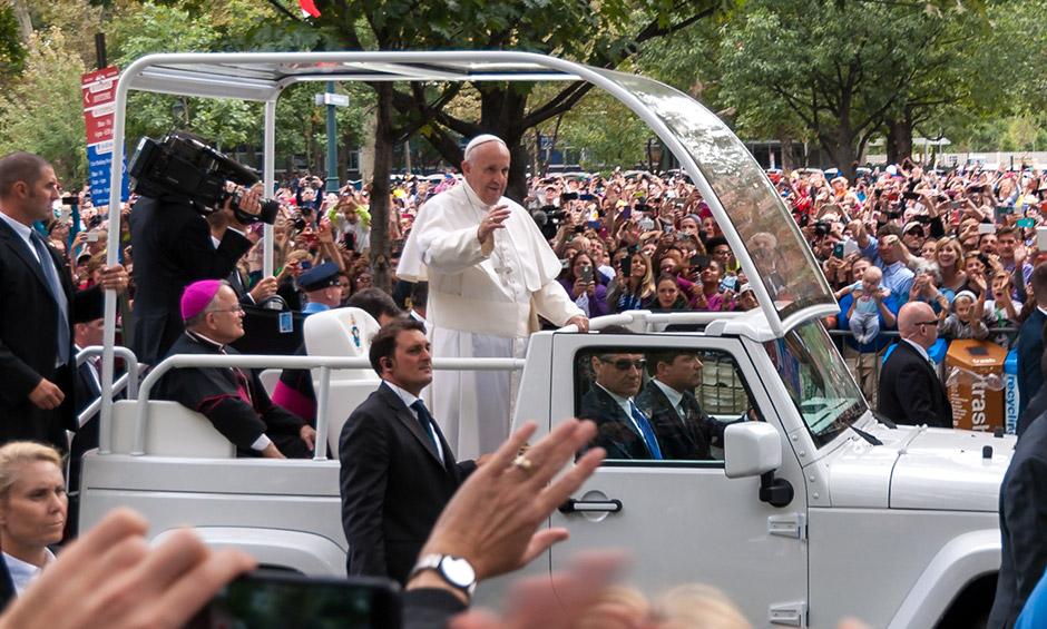 Pope Francis in Philadelphia, 2015