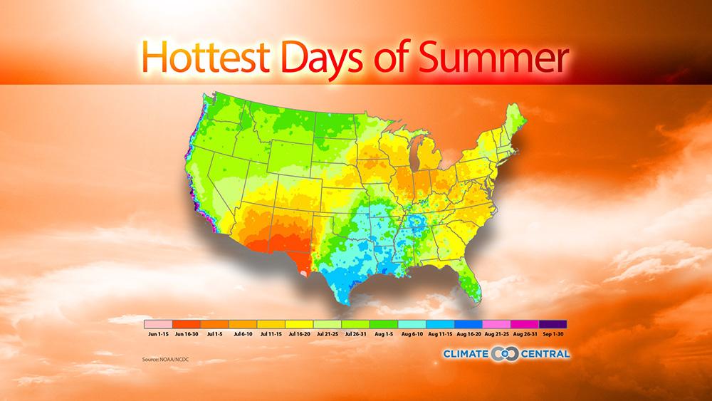 Hottest Days of Summer
